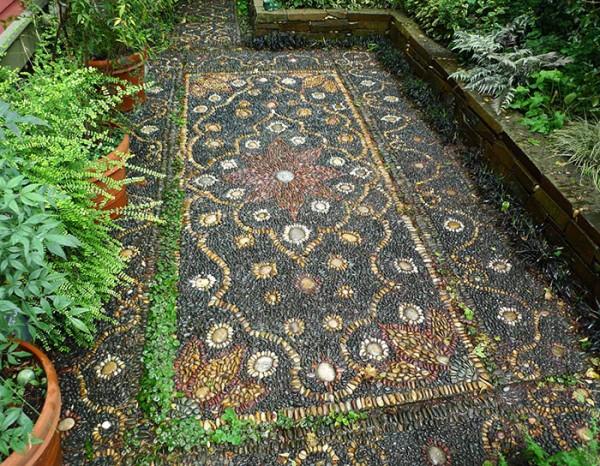 dekoratif bahçe taşı