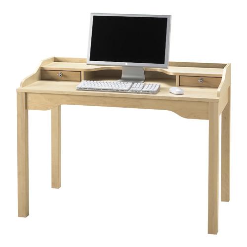 ikea ahşap çalışma masası