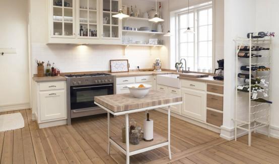 küçük kullanışlı mutfaklar