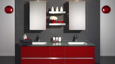 Modern Renkli Banyo Dolabı Modelleri