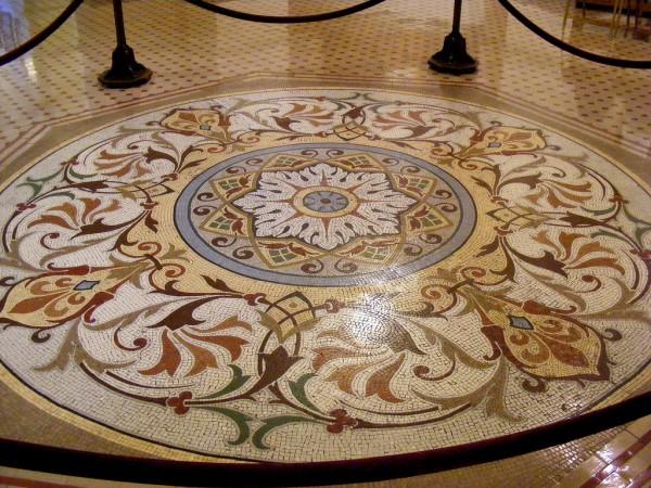 mozaik yer-göbekleri-zemin-dekorasyonu