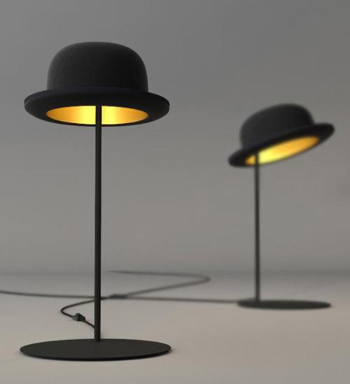 sıra dışı masa lambaları