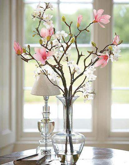 salon süs çiçekleri