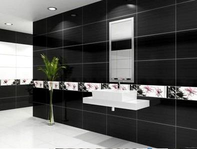 siyah-parlak-tasarımı-ile-banyo-seramik-fayans
