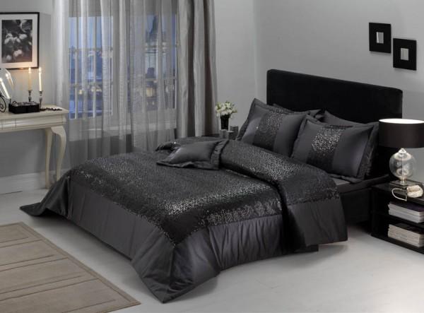 siyah-yatak-örtüsü modelleri