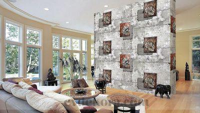 3 Boyutlu Duvar Kağıdı Modası