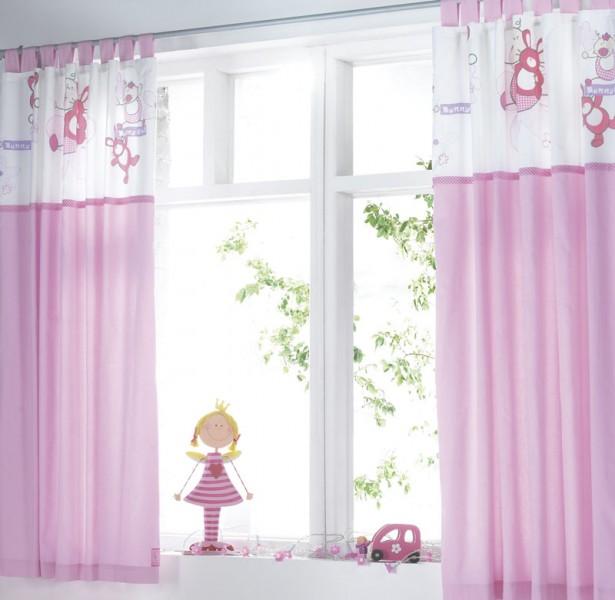 Bebek Odaları İçin Renkli Perde Modelleri  (1)