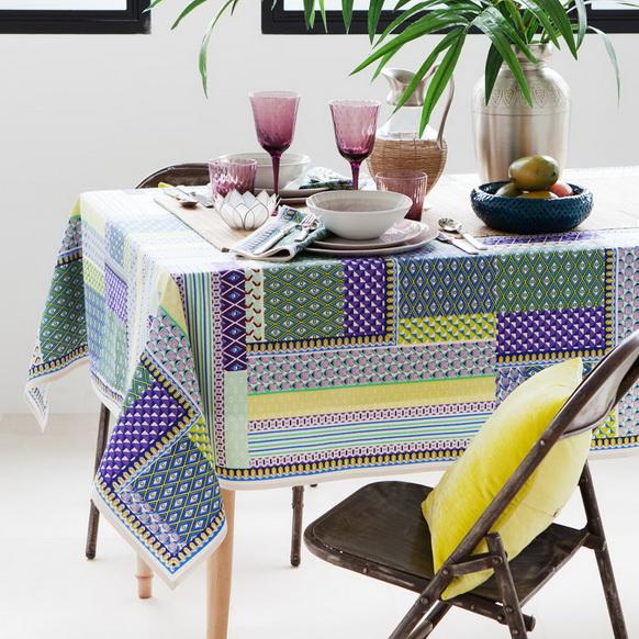 Rengarenk Masa Örtüsü Modelleri  (2)