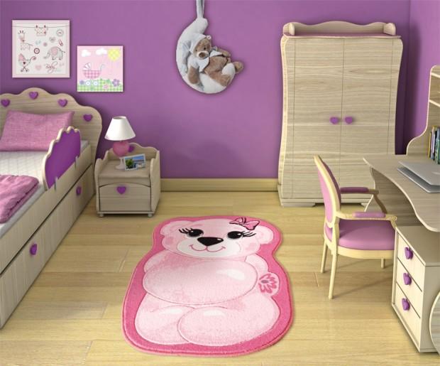 dekoratif çocuk halısı modelleri  (11)