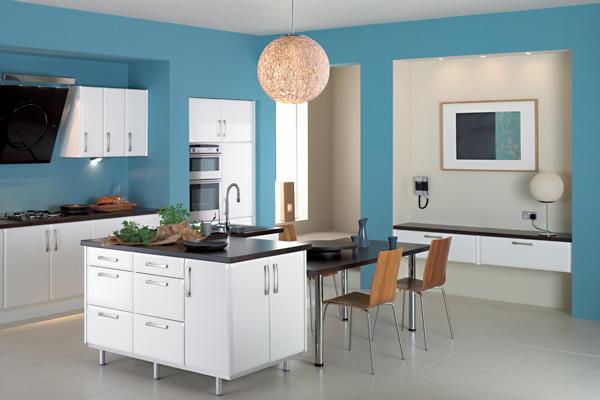 mavi mutfak modelleri  (1)
