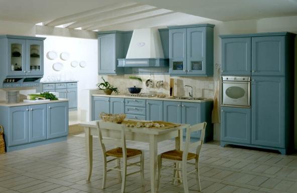 mavi mutfak modelleri  (3)