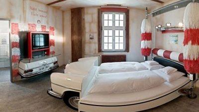 Sıradışı Yatak Odası Modelleri