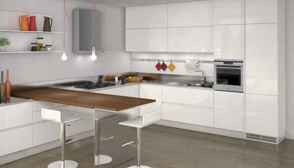 sade ve şık mutfak modelleri  (4)
