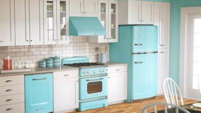 Vintage Tarzı Mutfak Modelleri