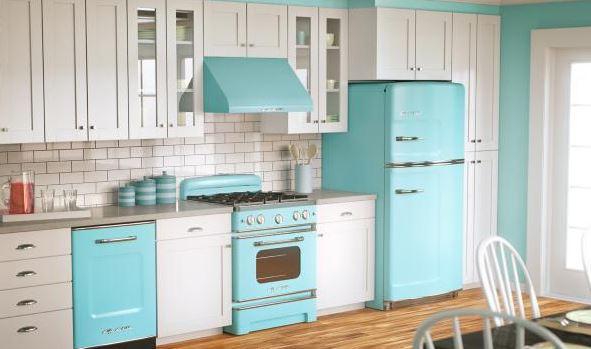 vintage mutfak modelleri  (1)