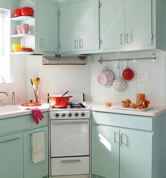 vintage mutfak modelleri  (5)