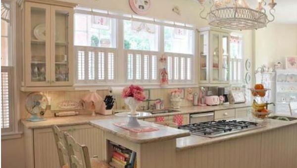 vintage mutfak modelleri  (7)