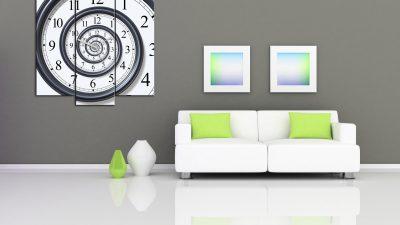 Canvas Tablo Saat Modası