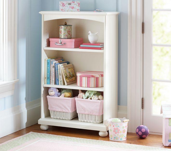 çocuk odası beyaz kitaplık