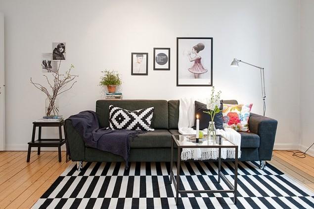 siyah beyaz dekorasyon örnekleri