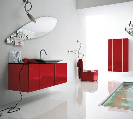 kırmızı-yaprak-deseni-aynalı-banyo-dolabı-modeli