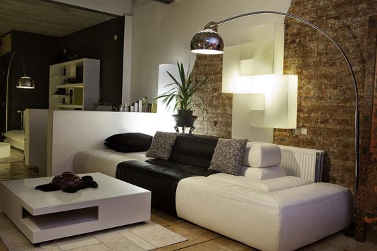 oturma odası lambader