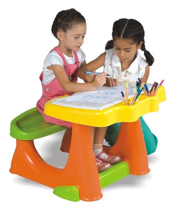 renkli çalışma masası