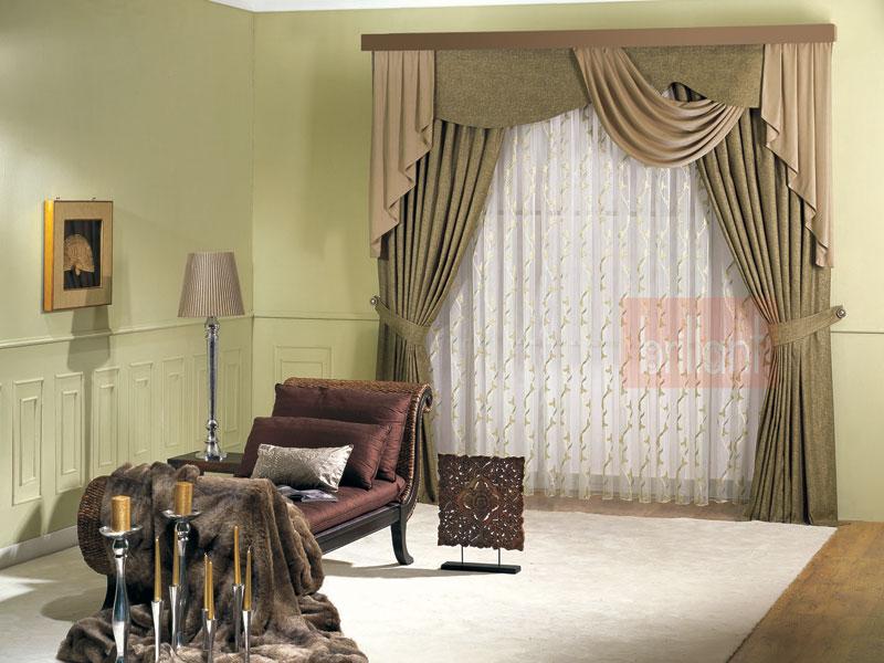 yatak odası brillant-perdeler