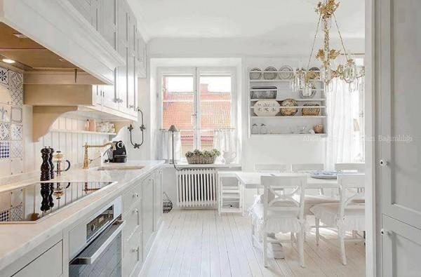 zen beyaz mutfak modeli