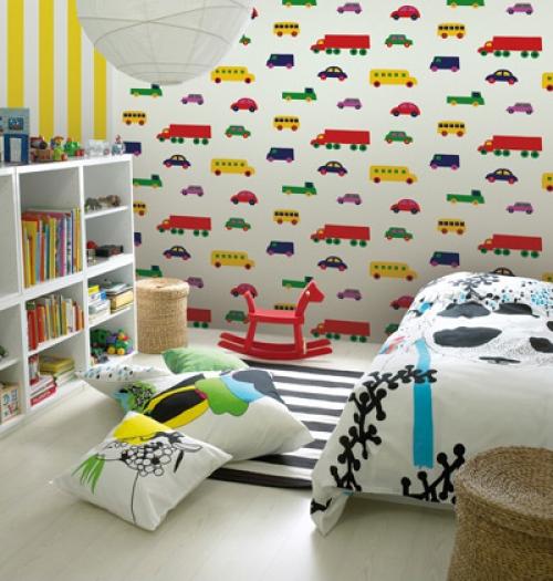 bebek-odası-duvar kağıtları