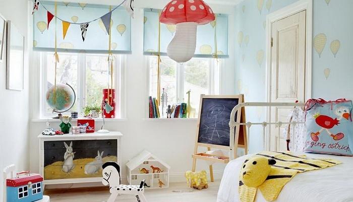birbirinden yaratıcı ve eğlenceli 10 çocuk odası örneği  (7)