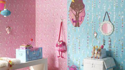 Çocuk Odaları İçin 10 Güzel Duvar Kağıdı Modeli