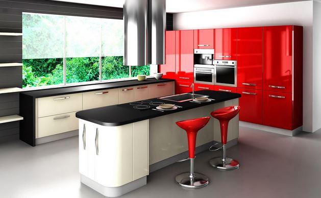 en çekici 14 kırmızı mutfak dekorasyonu  (5)