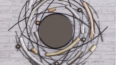 Evinize Tarz Katacak 12 Ferforje Ayna Modeli