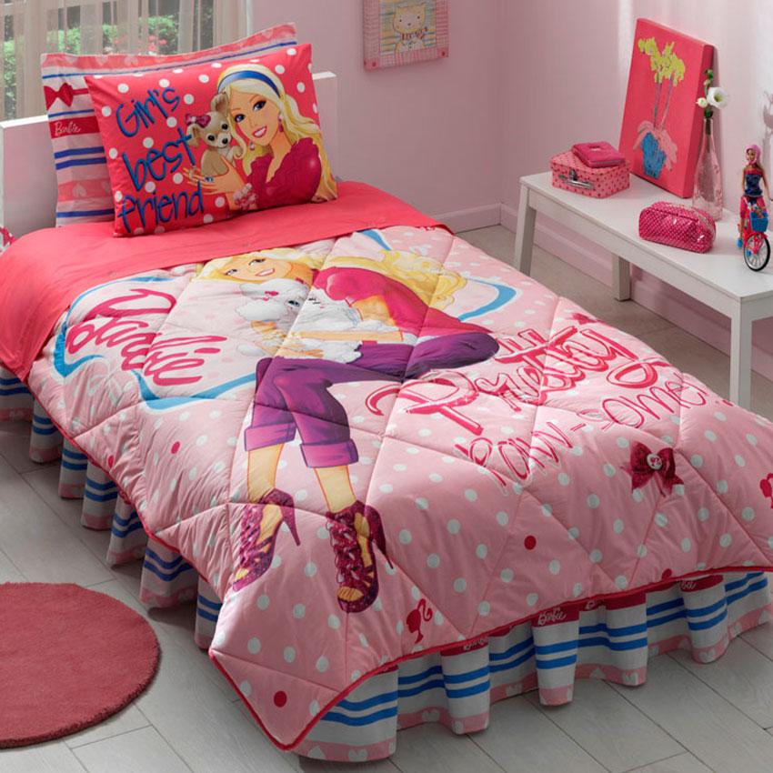 kız çocuklara yatak örtüleri