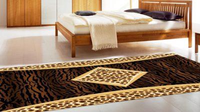 Yeni Moda 12 Farklı Yatak Odası Halı Modeli