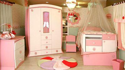 Pembe Bebek Odası Modelleri