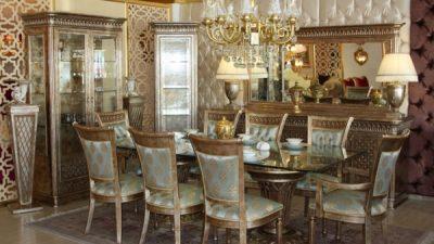 Klasik Yemek Odası Dekorasyon Fikirleri