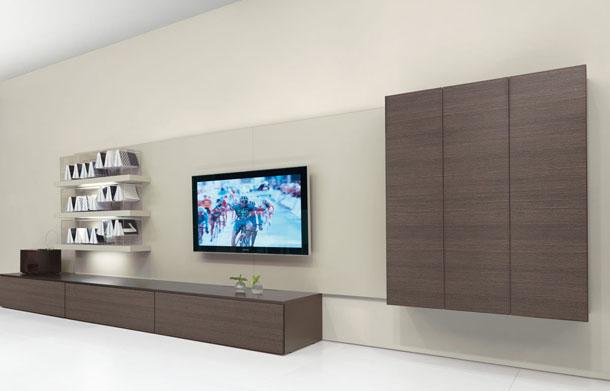 Tekzen tv duvar nitesi modelleri dekorstore 2019 - How high to mount tv in living room ...