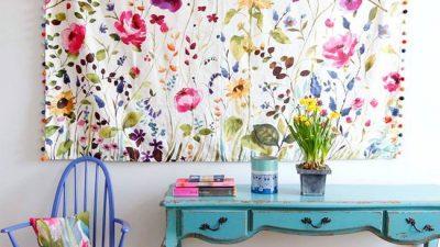 Çiçek Desenleri İle Evinize Baharı Taşıyın!