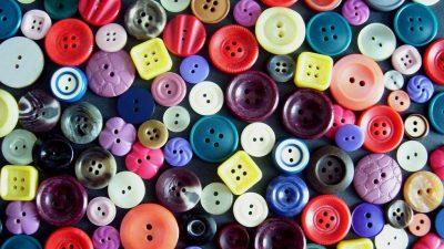 Düğme İle Yapılan 10 Ev Dekoru