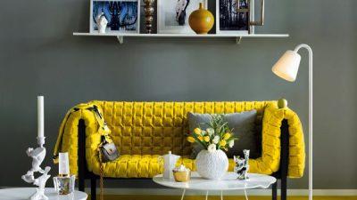 Sarı Detaylarla Evinize Bahar Dekorasyonu Getirin