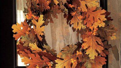 Sonbahar Temalı Dekorasyon