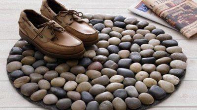 Çakıl Taşlarından Paspas Yapımı