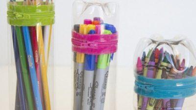Plastik Şişelerden Kalemlik Yapımı