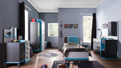 Erkek Çocukları için Genç Odası Dekorasyonu