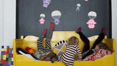 Minikler için Birbirinden Eğlenceli ve Yaratıcı Duvar Etiketleri