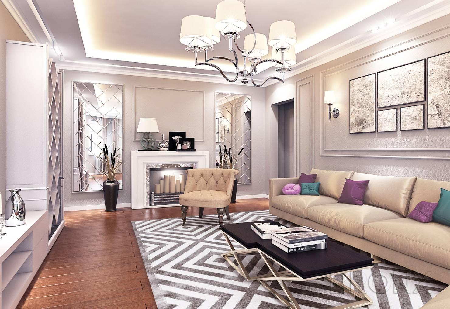 Eklektik Stil Oturma Odasi Dekorasyonu Dekorstore