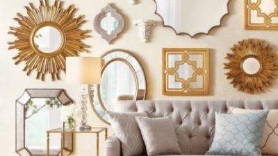 Dekorasyonların Vazgeçilmezi Aynalar
