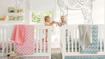 İkiz Bebekler İçin Oda Dekorasyonu
